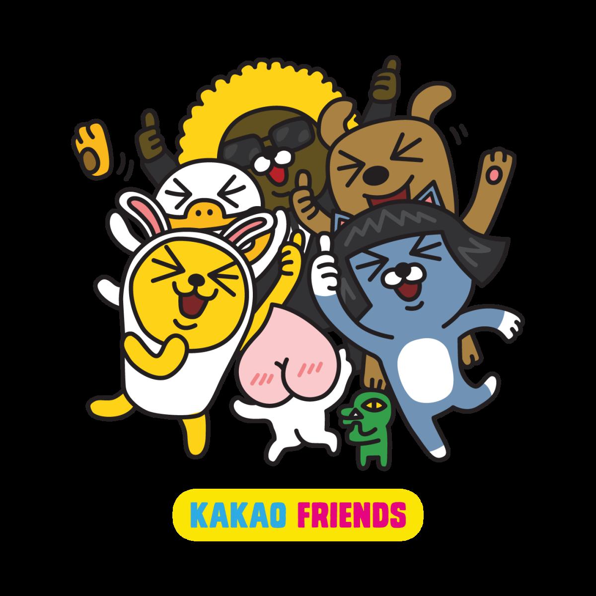 Happy KakaoTalk with Kakao Friends